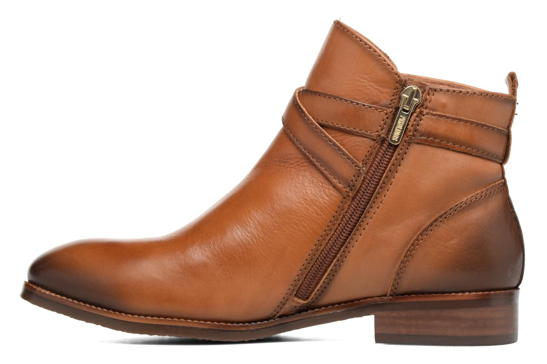Boots en enkellaarsjes Pikolinos ROYAL W4D-8614 Bruin voorkant