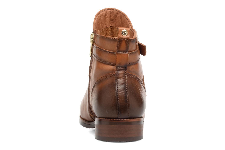 Boots en enkellaarsjes Pikolinos ROYAL W4D-8614 Bruin rechts