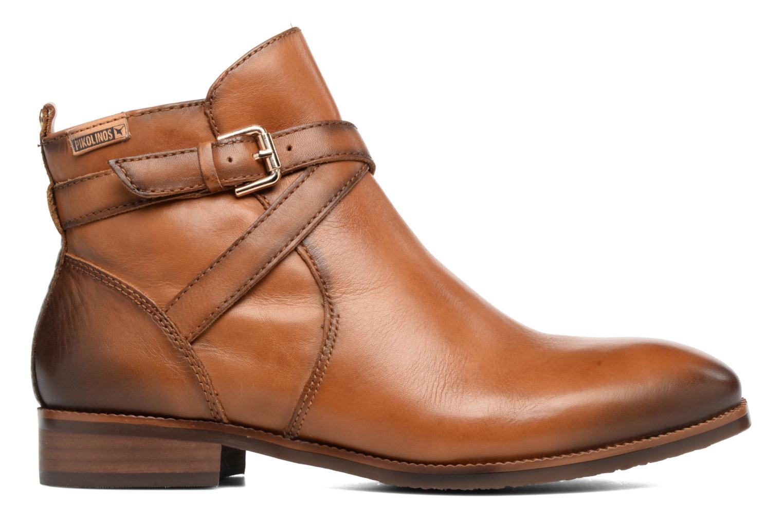 Boots en enkellaarsjes Pikolinos ROYAL W4D-8614 Bruin achterkant