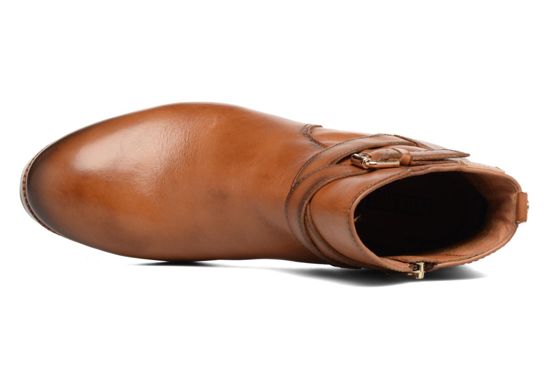 Boots en enkellaarsjes Pikolinos ROYAL W4D-8614 Bruin links