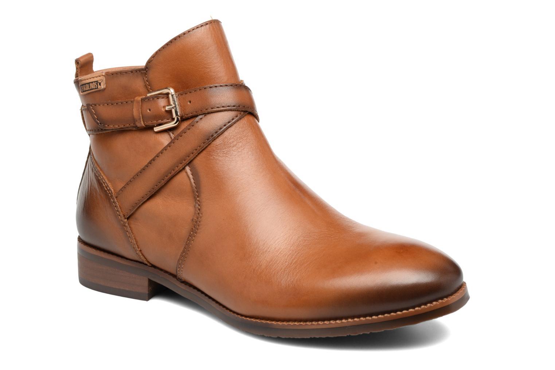 Boots en enkellaarsjes Pikolinos ROYAL W4D-8614 Bruin detail