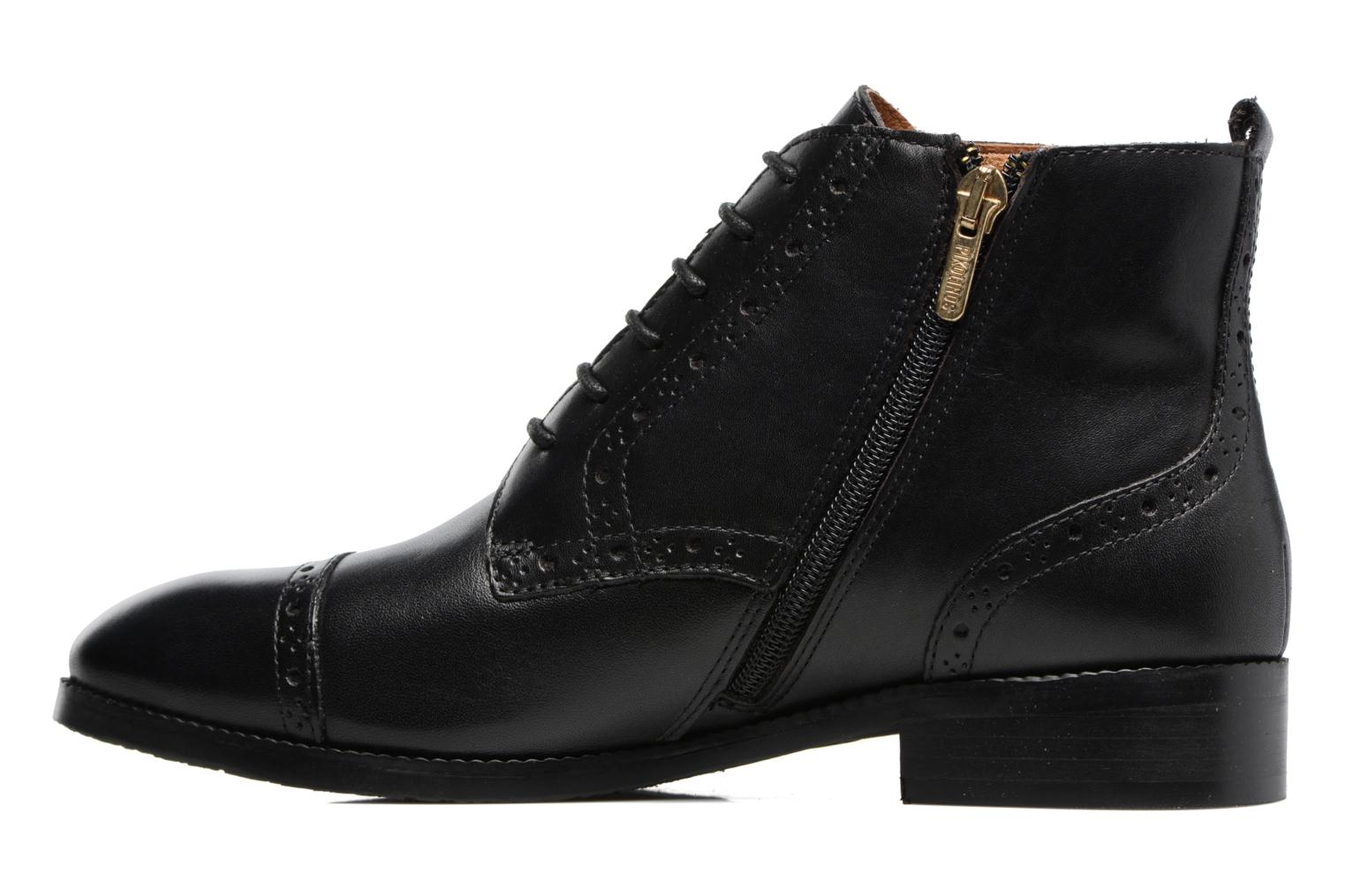 Ankle boots Pikolinos Royal W4D-8717 Black front view