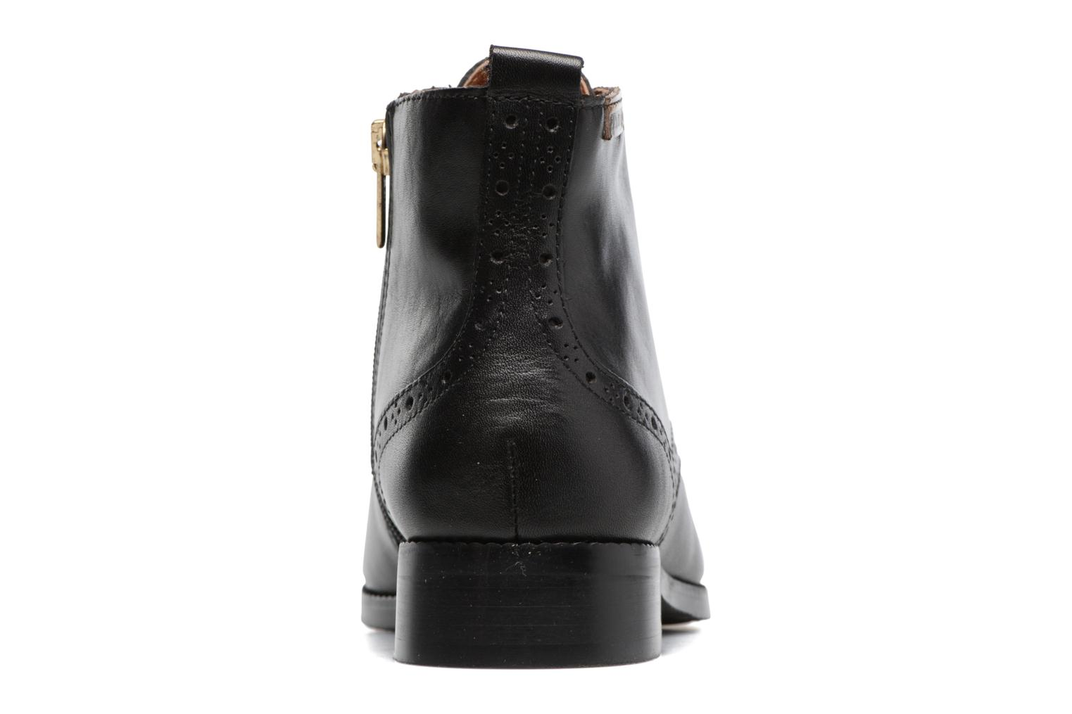 Ankle boots Pikolinos Royal W4D-8717 Black view from the right