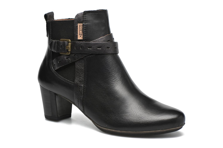 Marques Chaussure femme Pikolinos femme SEGOVIA W1J-8795 Black