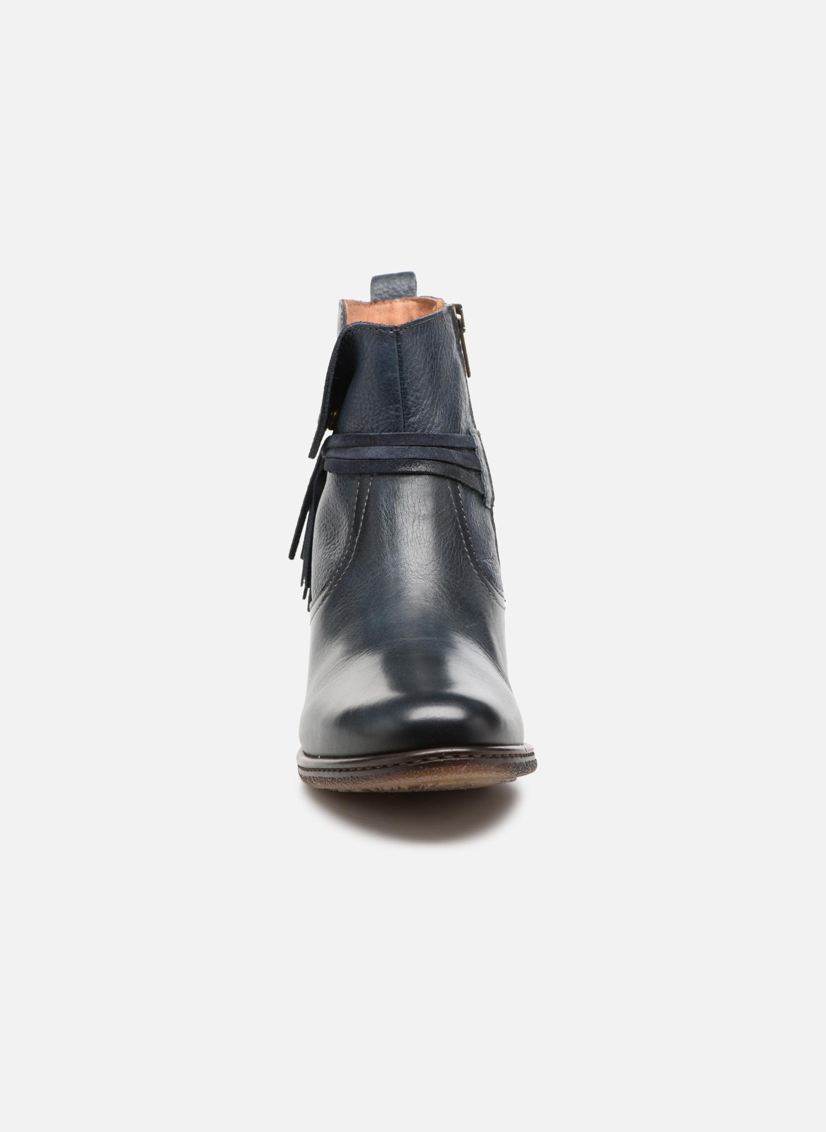 Bottines et boots Pikolinos Zaragoza W9H-8800 Bleu vue portées chaussures