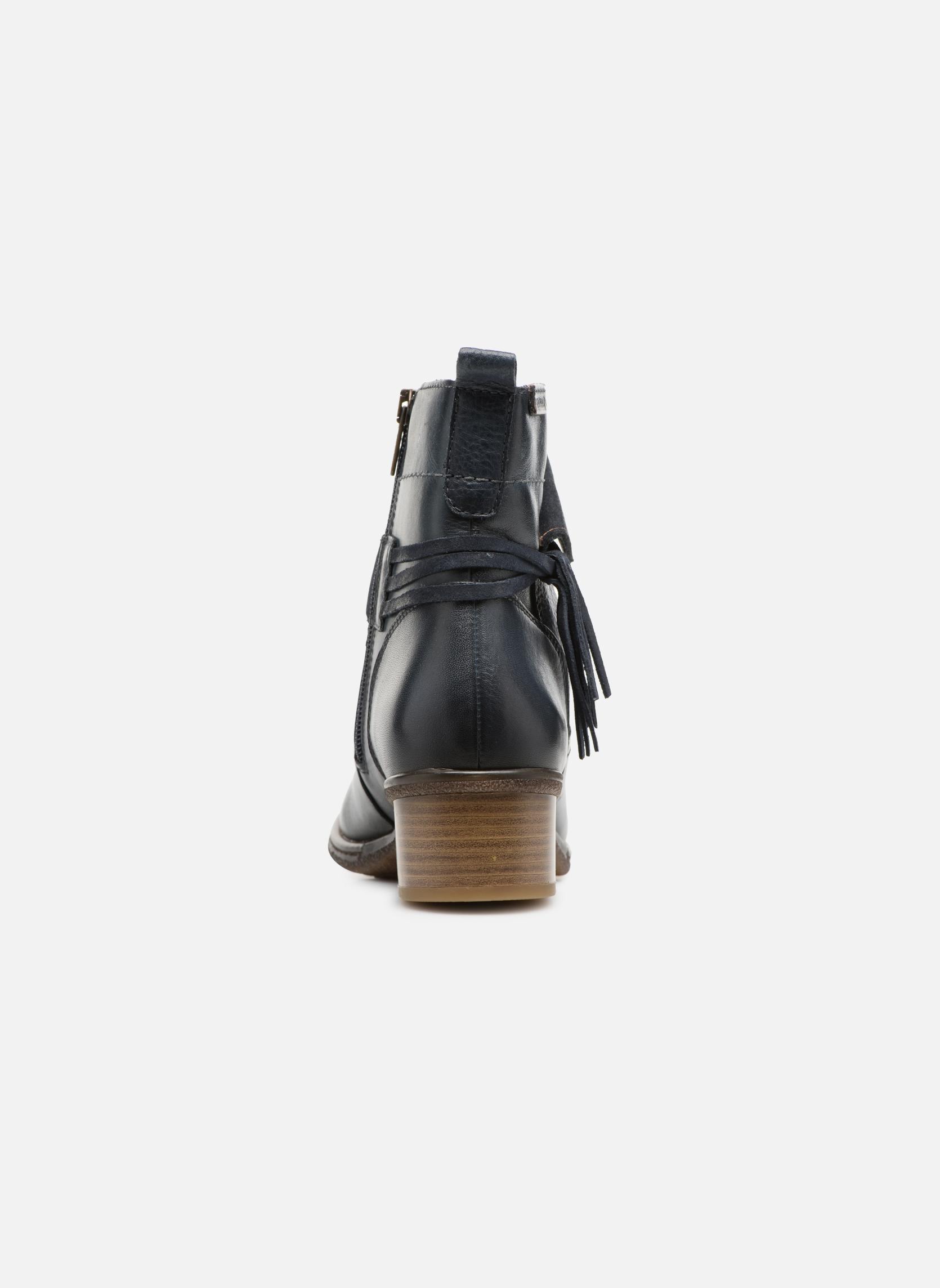 Bottines et boots Pikolinos Zaragoza W9H-8800 Bleu vue droite