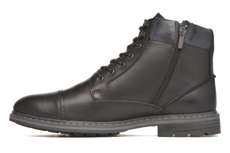 Boots en enkellaarsjes Pikolinos CACERES M9E-8104SP Zwart voorkant
