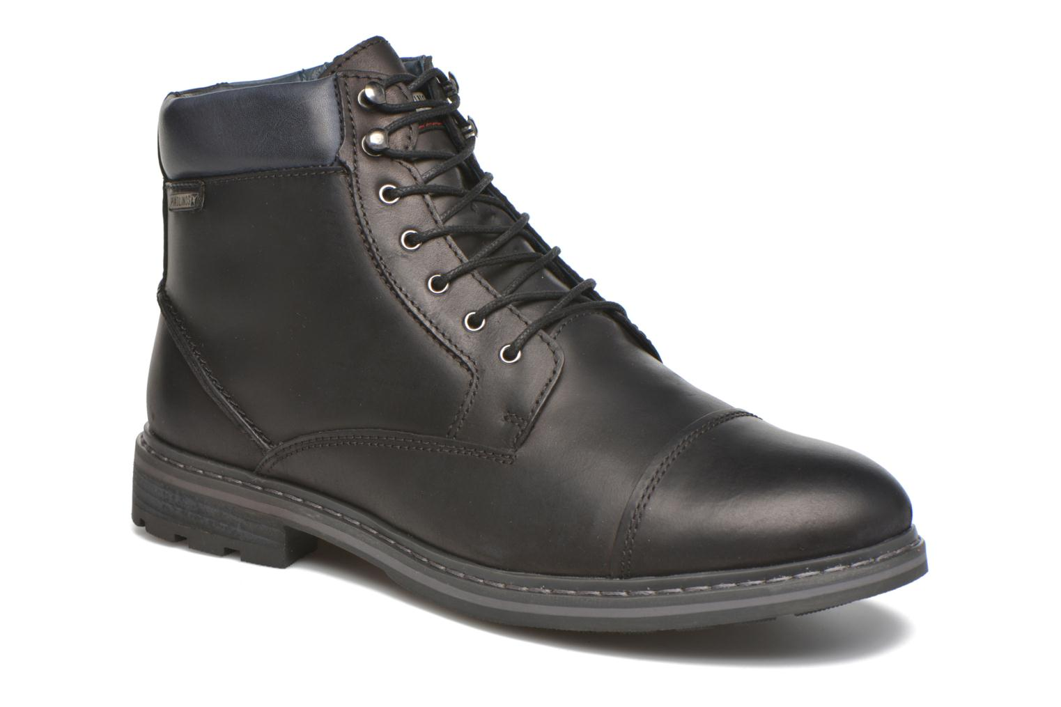 Marques Chaussure homme Pikolinos homme CACERES M9E-8104SP Black