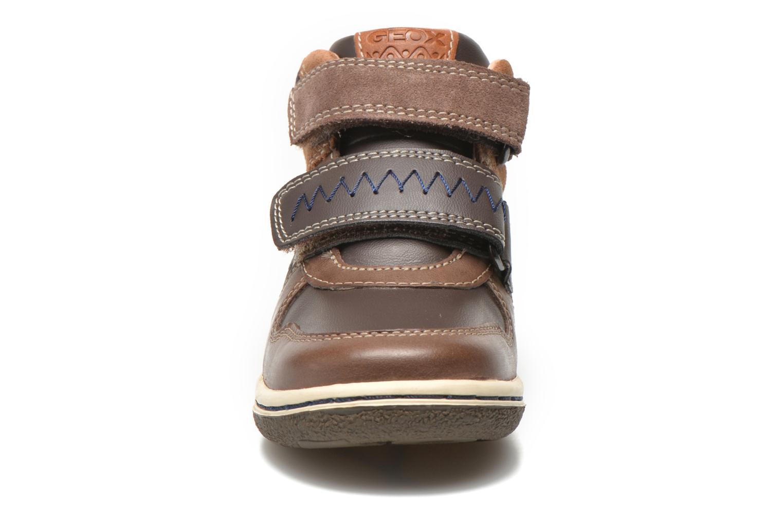 Baskets Geox B Flick B. C B6437C Marron vue portées chaussures