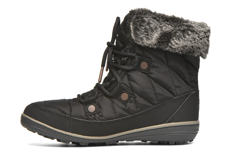 Chaussures de sport Columbia Heavenly Shorty Omni-Heat Noir vue face