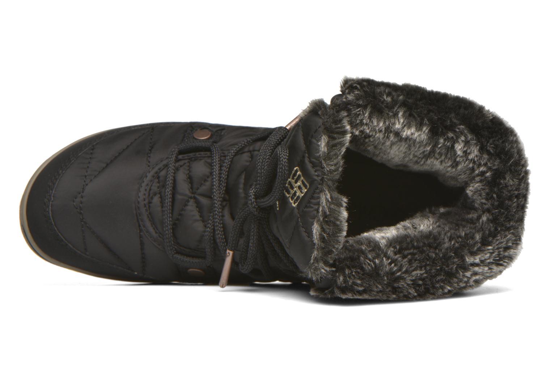 Chaussures de sport Columbia Heavenly Shorty Omni-Heat Noir vue gauche