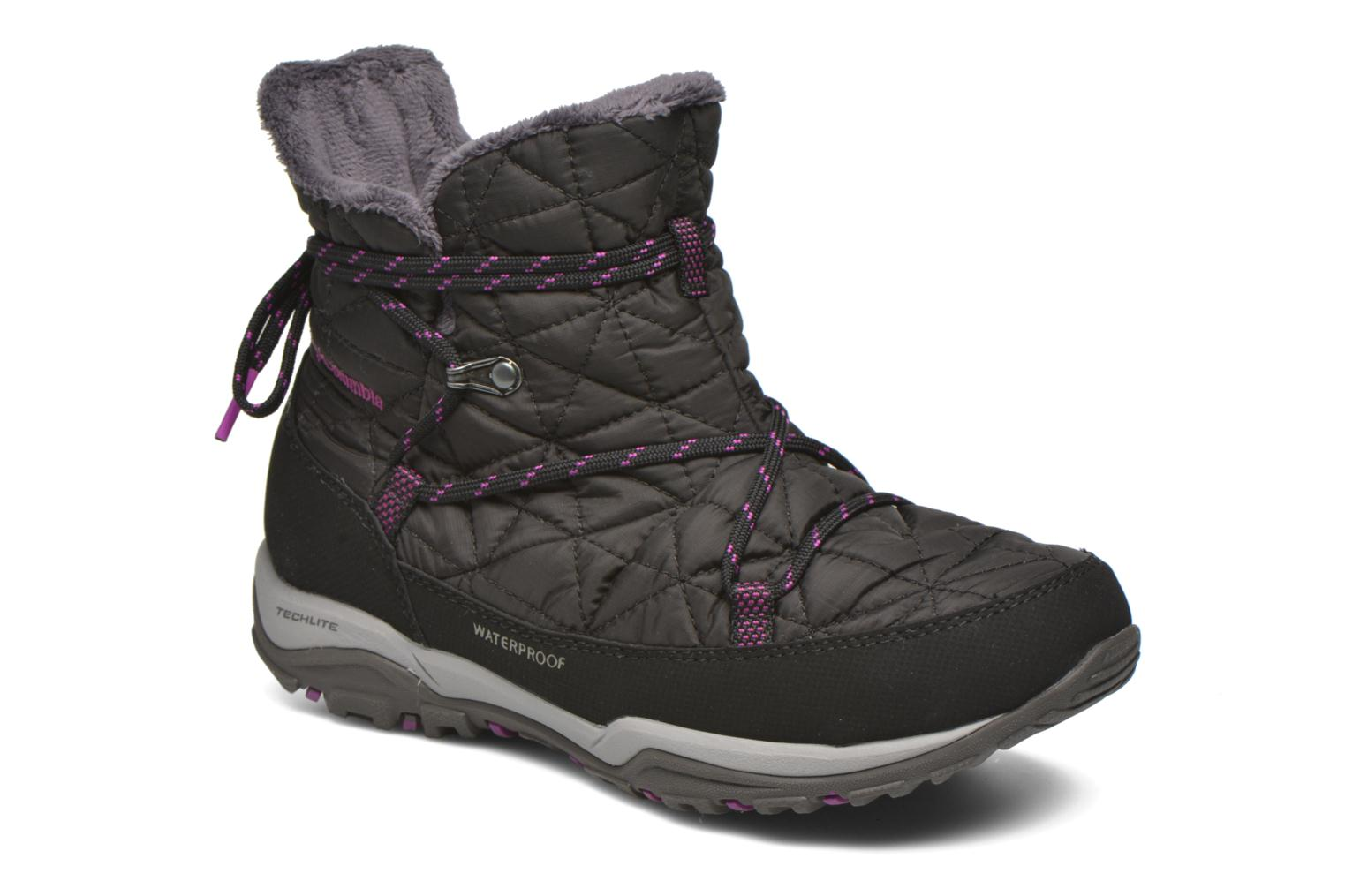 Loveland Shorty Omni-Heat Black, Bright Plum