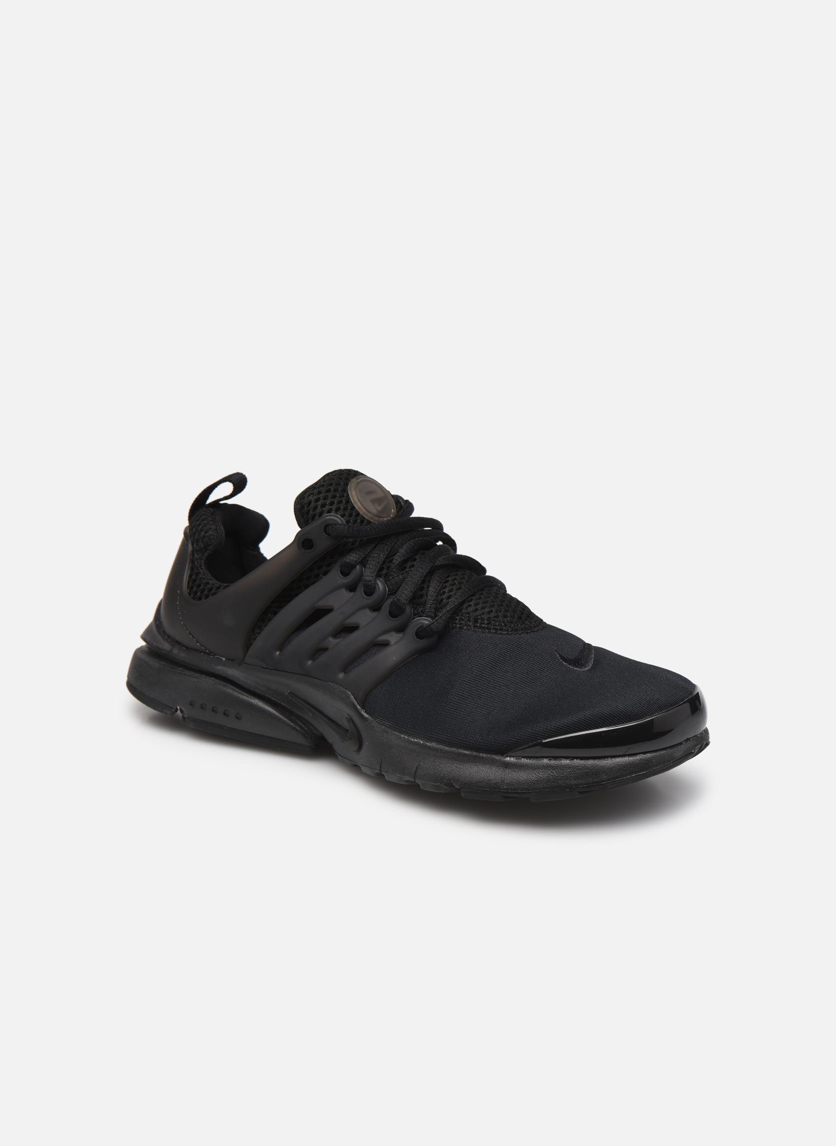 Black black-Black Nike Nike Presto (Gs) (Noir)