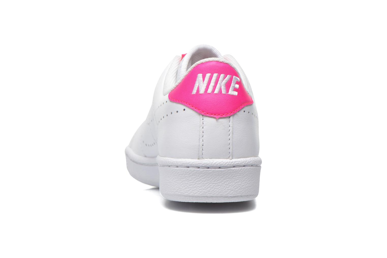 Pure Platinum/Pure Platinum-Bright Melon Nike Nike Tennis Classic Prm (Gs) (Blanc)