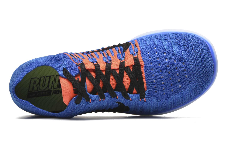 Sneakers Nike Nike Free Rn Flyknit (Gs) Blauw links
