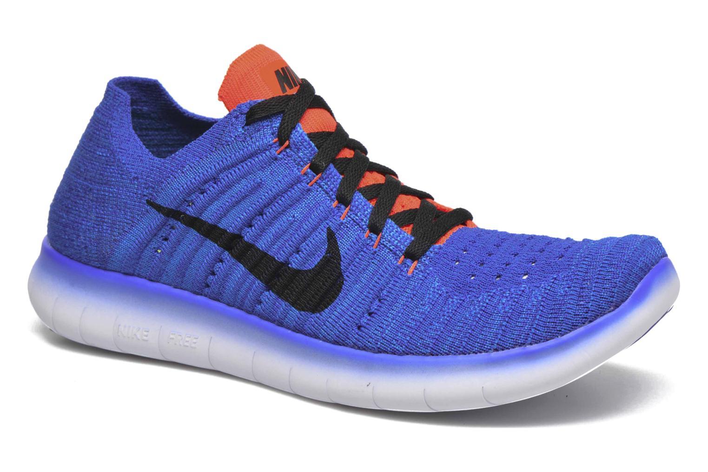 Nike Free Rn Flyknit (Gs) Rcr BlueBlk-Ttl Crmsn-Pht Bl