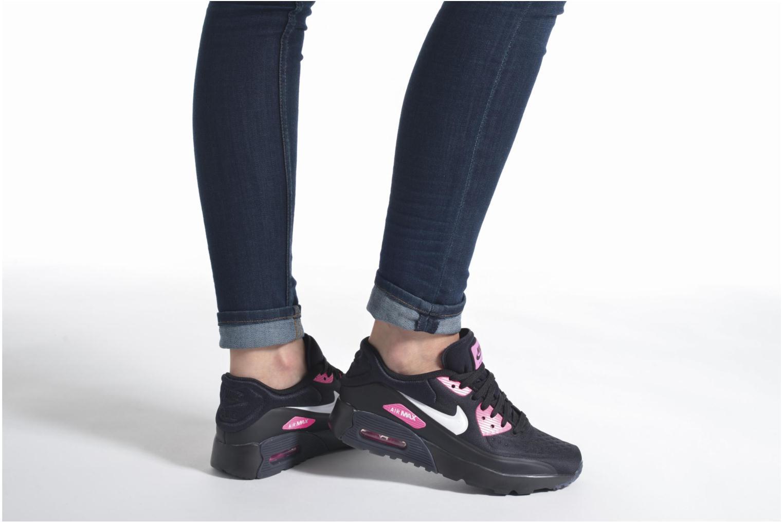 Baskets Nike Nike Air Max 90 Ultra Se (Gs) Noir vue bas / vue portée sac