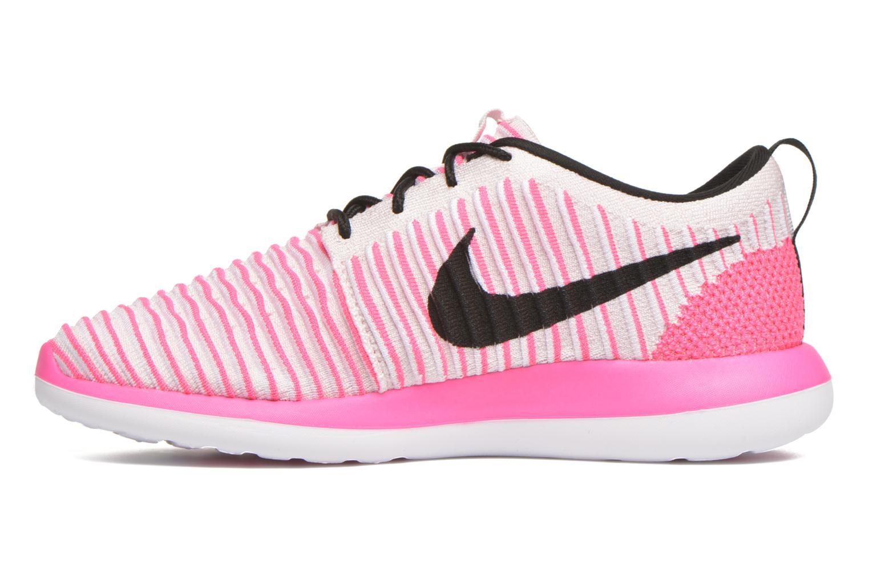 Pearl PinkBlk-Pnk Blst-White Nike Nike Roshe Two Flyknit (Gs) (Rose)