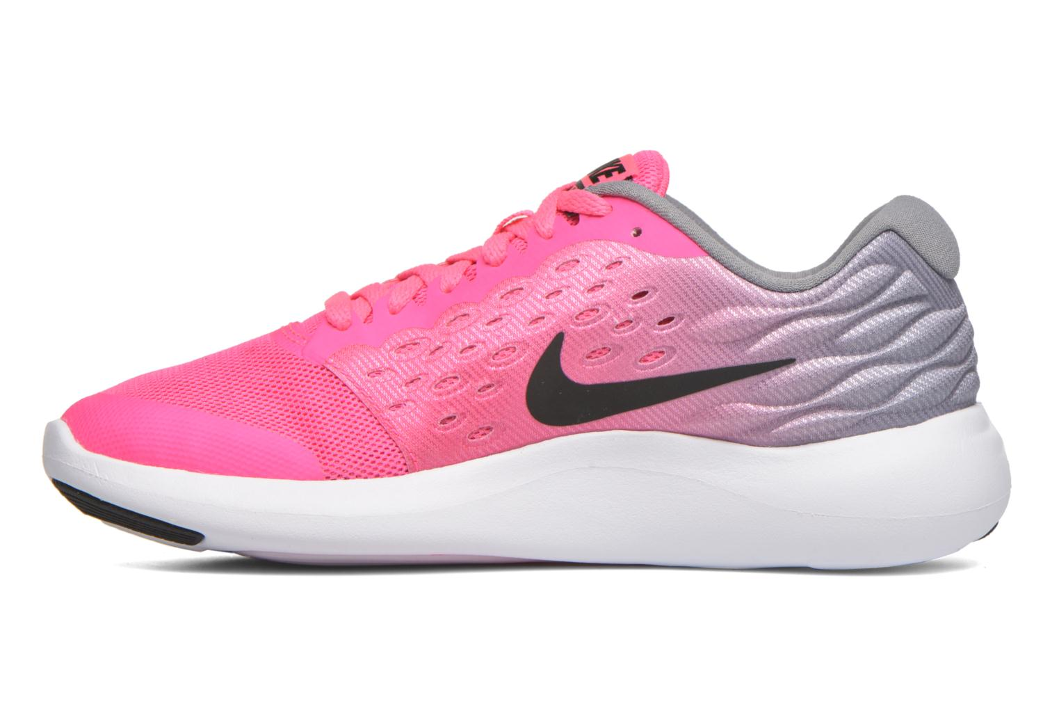 Trainers Nike Nike Lunarstelos (Gs) Pink front view