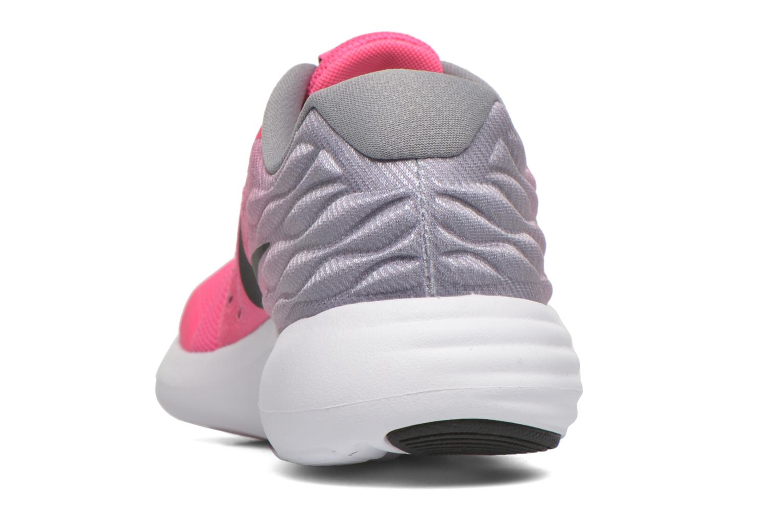 Trainers Nike Nike Lunarstelos (Gs) Pink view from the right