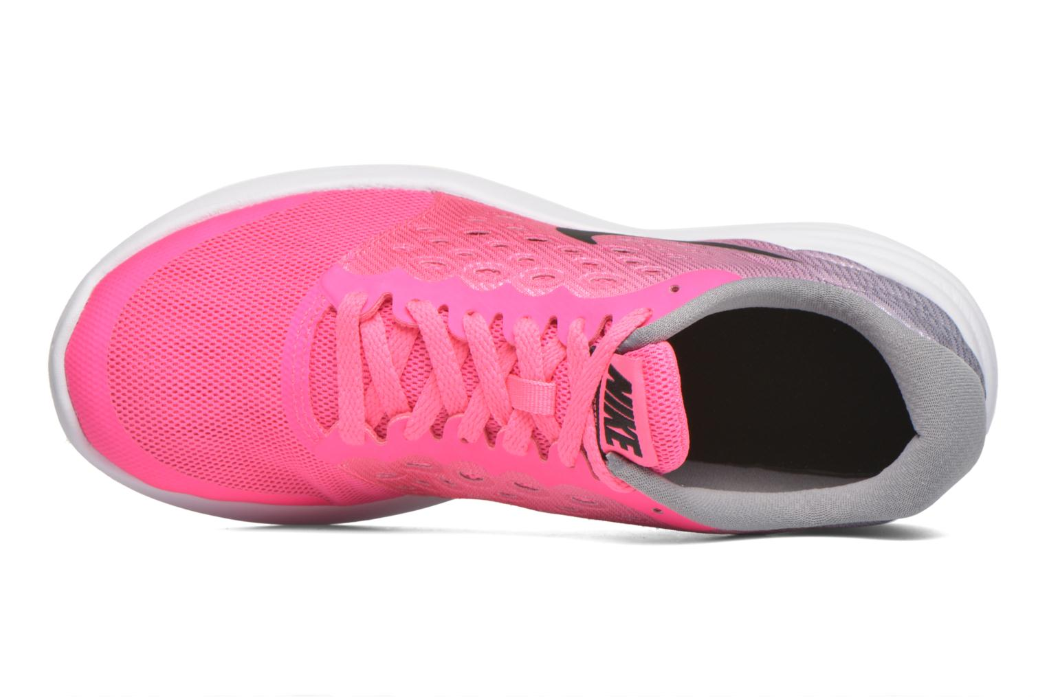 Trainers Nike Nike Lunarstelos (Gs) Pink view from the left