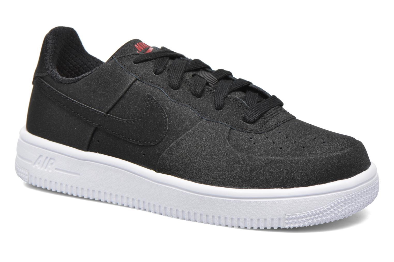 Baskets Nike Air Force 1 Ultraforce PRM GS Noir vue détail/paire