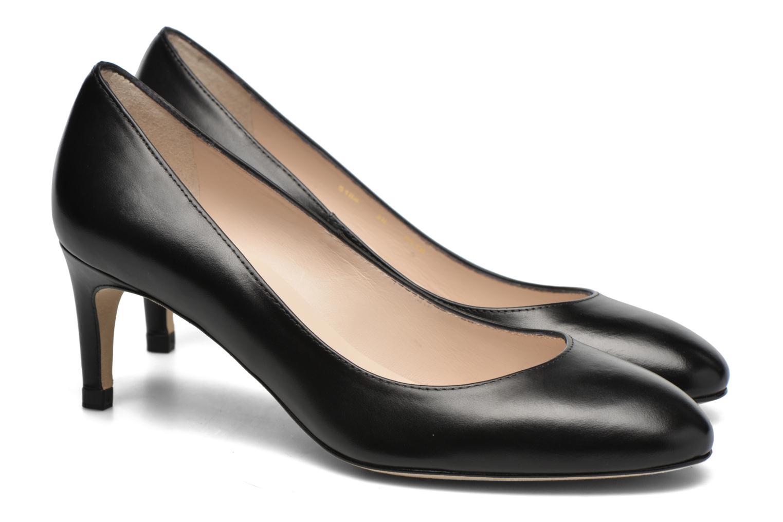 SASH Black Calf Leather