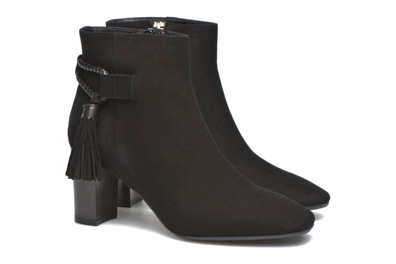 Bottines et boots L.K. Bennett CHARLOTTE Noir vue 3/4