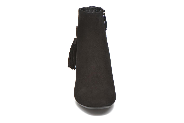 CHARLOTTE SUEDE - BLACK