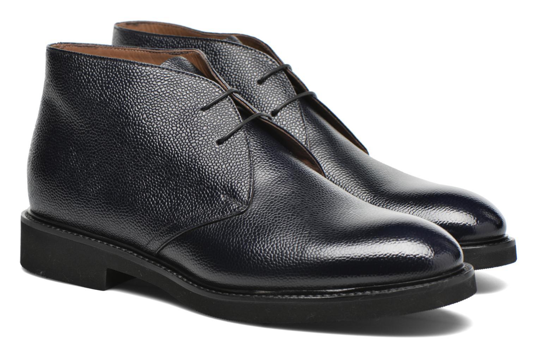 Chaussures à lacets Doucal's Bruno Verona Royal Bleu vue 3/4