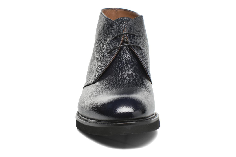 Chaussures à lacets Doucal's Bruno Verona Royal Bleu vue portées chaussures