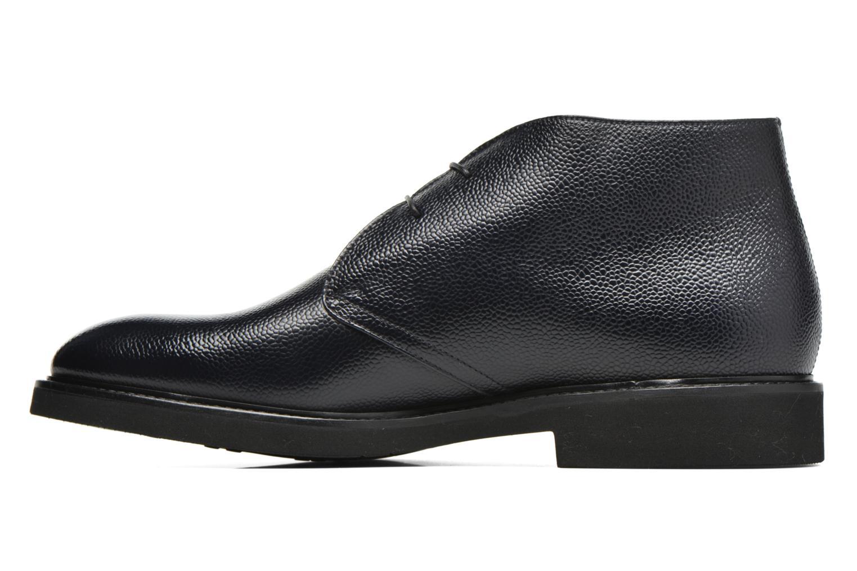 Snörade skor Doucal's Bruno Verona Royal Blå bild från framsidan