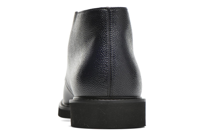 Chaussures à lacets Doucal's Bruno Verona Royal Bleu vue droite