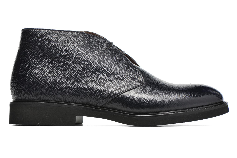 Chaussures à lacets Doucal's Bruno Verona Royal Bleu vue derrière