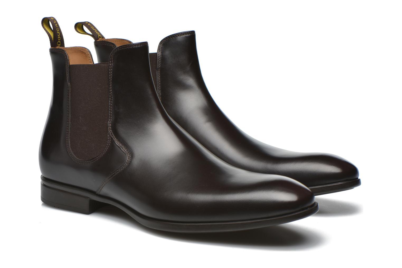 Bottines et boots Doucal's Omar Vichy High Marron vue 3/4