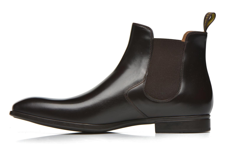 Bottines et boots Doucal's Omar Vichy High Marron vue face