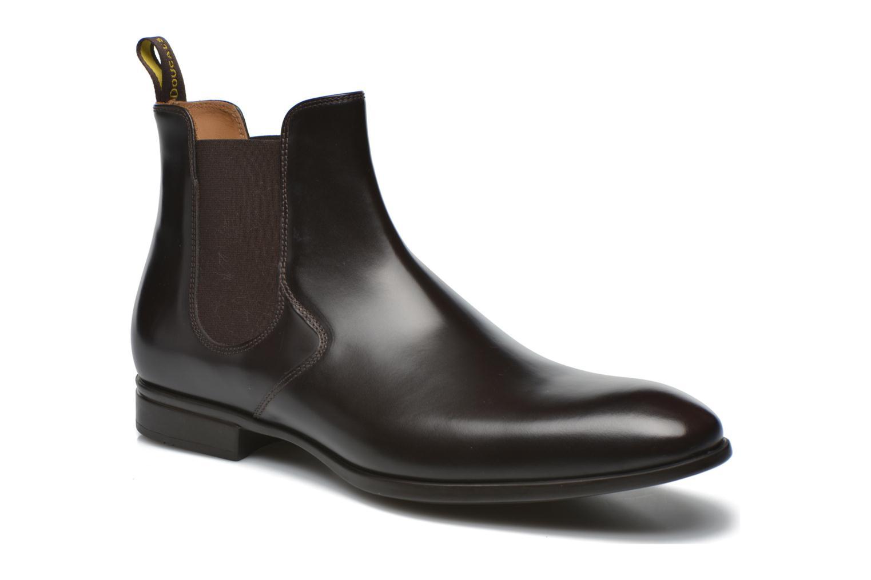 Bottines et boots Doucal's Omar Vichy High Marron vue détail/paire