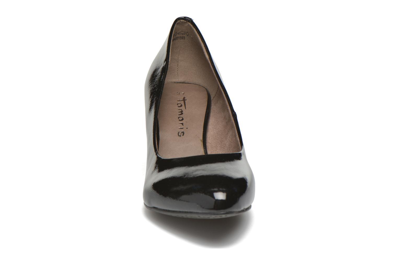 Escarpins Tamaris Amarante Noir vue portées chaussures