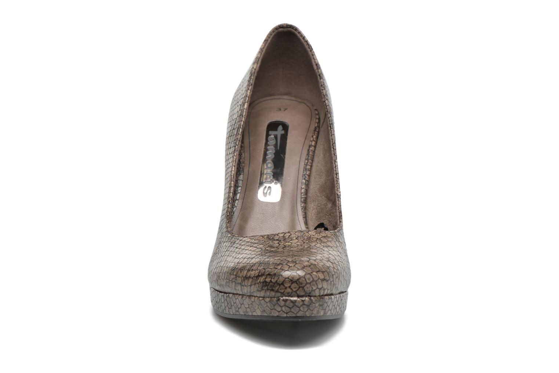 Escarpins Tamaris Albizia Beige vue portées chaussures