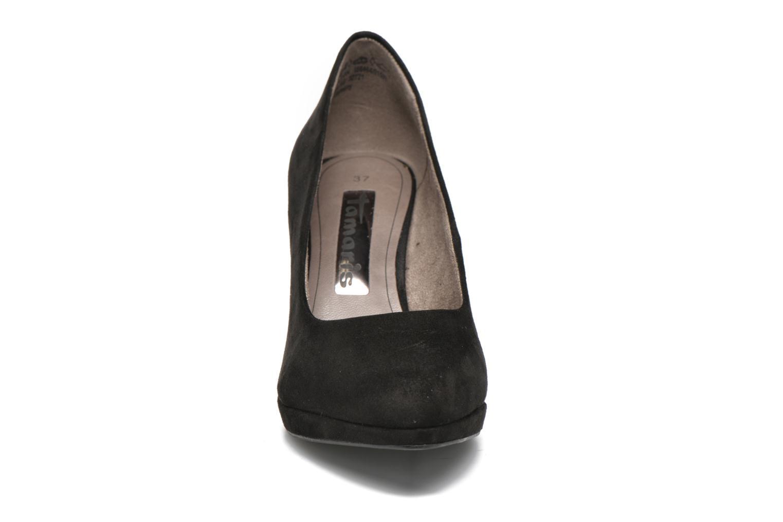 Escarpins Tamaris Alocasia Noir vue portées chaussures