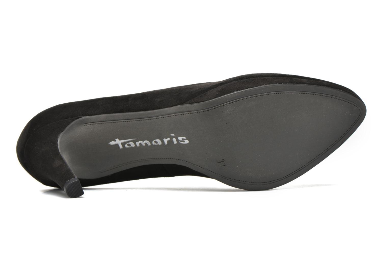 Escarpins Tamaris Alocasia Noir vue haut