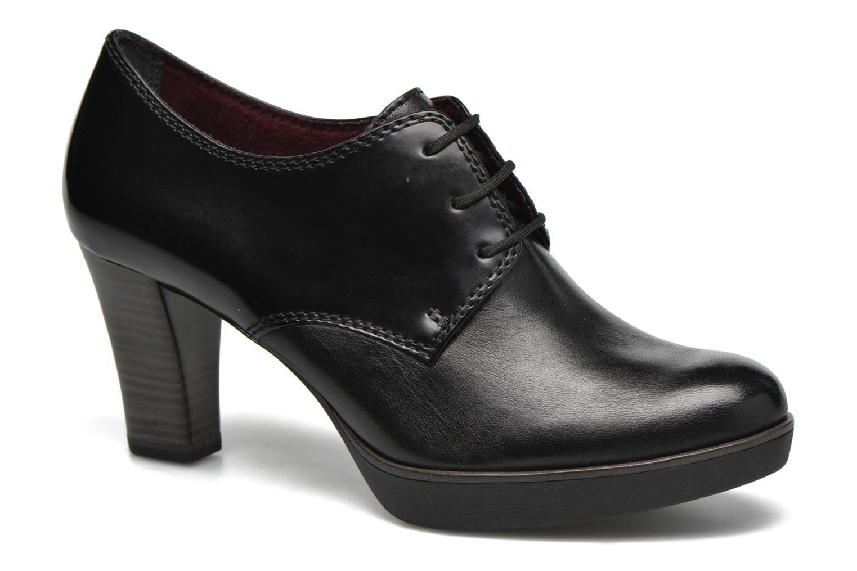 Chaussures à lacets Tamaris Amaryllis Noir vue détail/paire