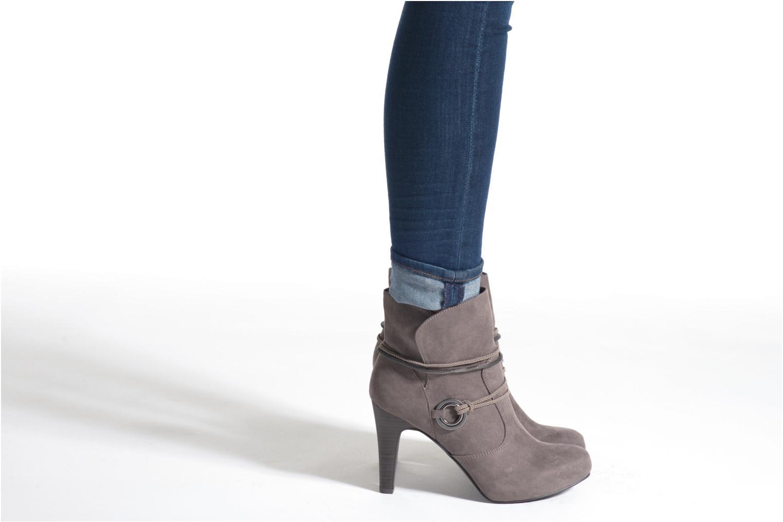 Bottines et boots Tamaris Hoya Beige vue bas / vue portée sac