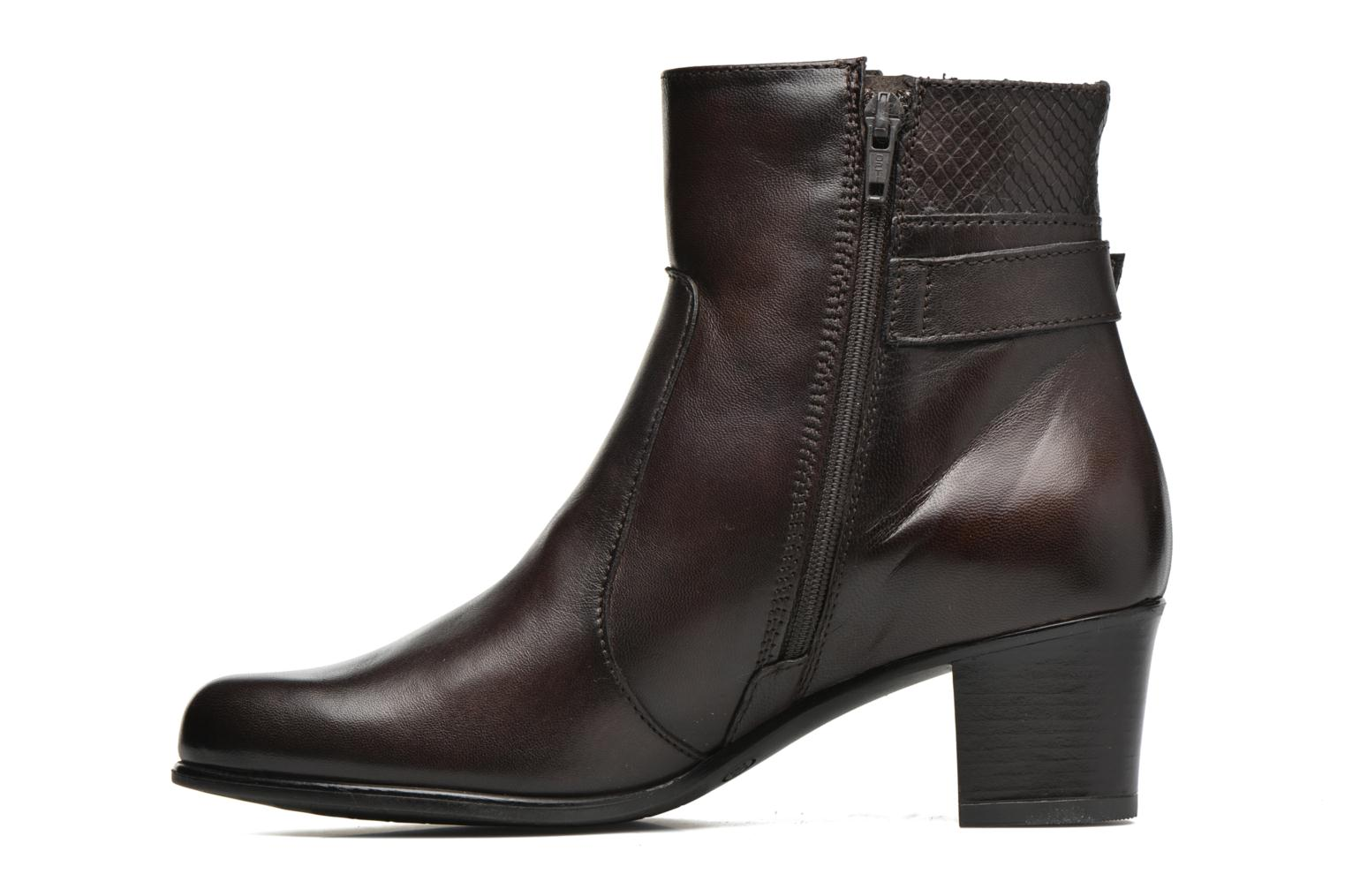 Bottines et boots Tamaris Lycium Marron vue face