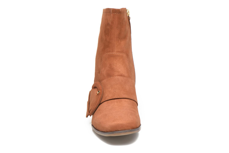 Bottines et boots Tamaris Senna Marron vue portées chaussures
