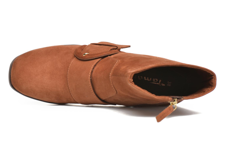 Bottines et boots Tamaris Senna Marron vue gauche