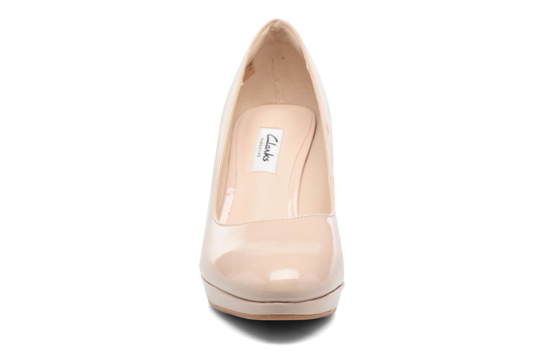 Escarpins Clarks Kendra Sienna Rose vue portées chaussures