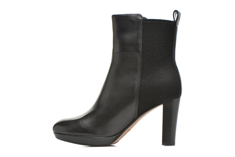 Bottines et boots Clarks Kendra Porter Noir vue face