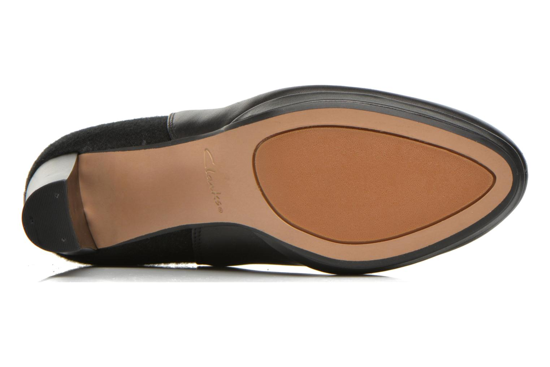 Bottines et boots Clarks Kendra Porter Noir vue haut