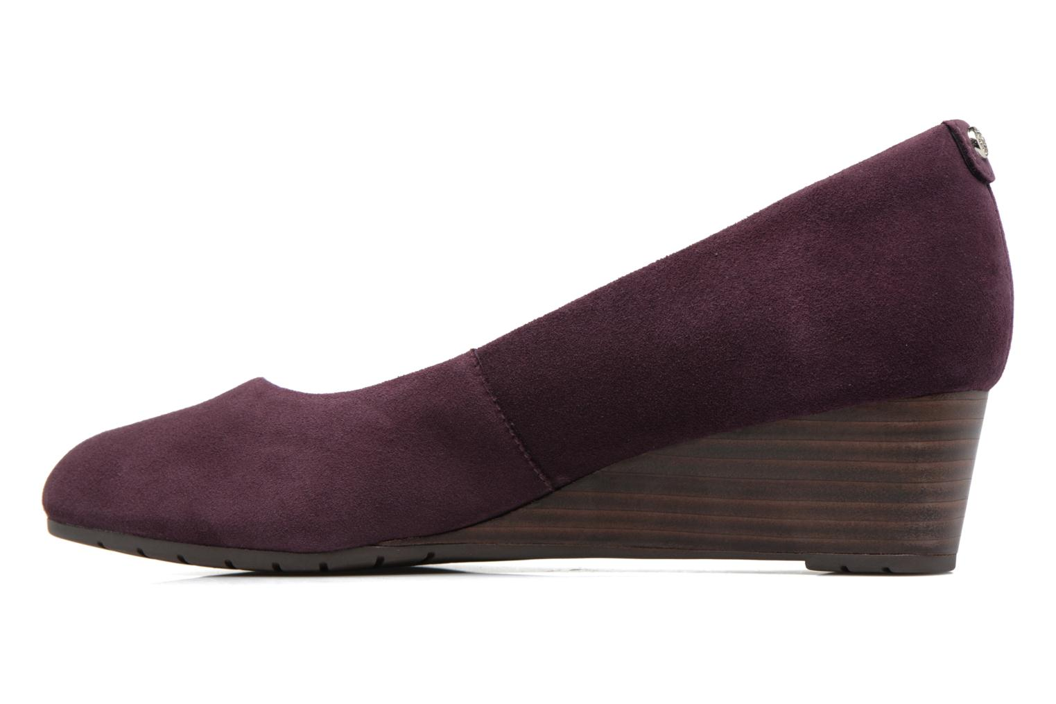 Escarpins Clarks Vendra Bloom Violet vue face